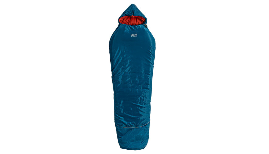 Jack Wolfskin Grow Up Comfort Sleeping Bag Kids moroccan blue